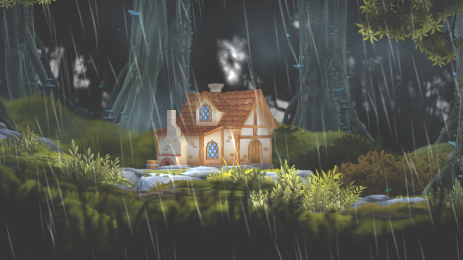 3D Forest House Full LWP Screenshot 14