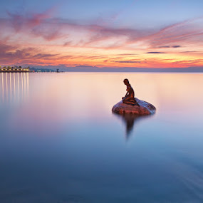little mermaid by Rodrigo Layug - Landscapes Waterscapes ( nature, waterscape, sunrise, landscape )