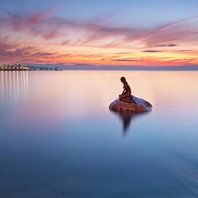 little mermaid by Rodrigo Layug - Landscapes Waterscapes ( nature, waterscape, sunrise, landscape )
