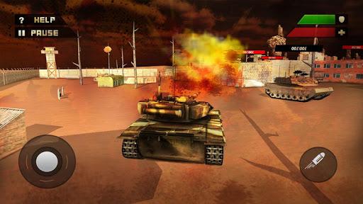 Tank Attack War 3D 2016 - screenshot