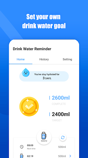 Drink Water Reminder: hydration app For PC