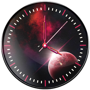 Download Galaxy Clock Live Wallpaper for Windows Phone