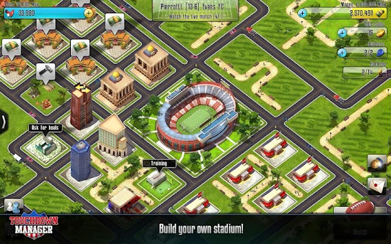 Touchdown Manager APK screenshot thumbnail 6