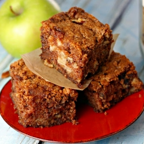 Spiced Apple Pecan Pudding Cake