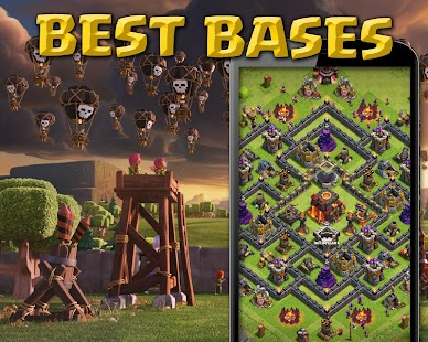 Bases for Clash of Clans - screenshot