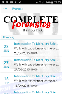 WSUK Forensic Science - screenshot