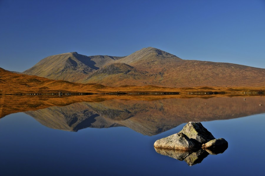 RANNOCH MOOR 1 SCOTLAND  by Ross Hutton - Landscapes Mountains & Hills