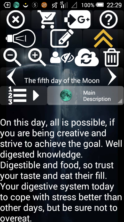 Lunar Calendar Screenshot 2