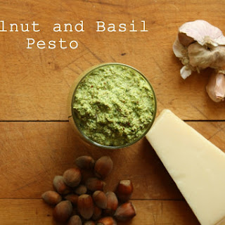 Hazelnut and Basil Pesto