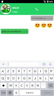 Text Baldi Funny App