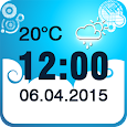 Weather Clock Widget APK Version 1.0