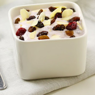 Yogurt with Mixed Dried Fruit