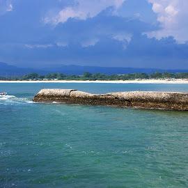 Santolo Beach by Mulawardi Sutanto - Landscapes Beaches ( garut, indonesia, santolo, beach, travel )
