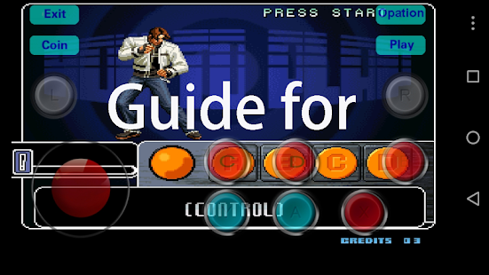 App Guide for King of Fighter 2002 APK for Kindle