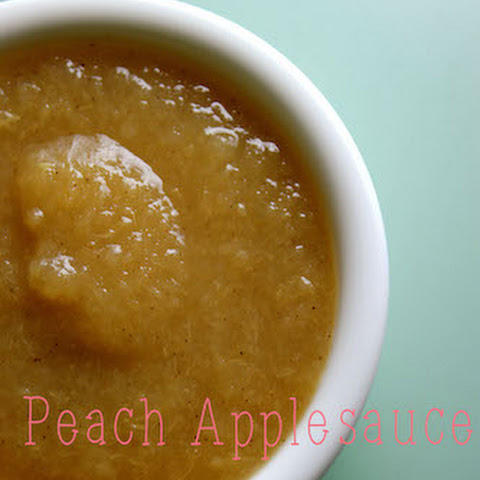 Peach Applesauce