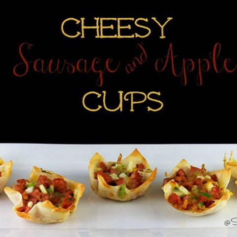 Perfect Party Food – Cheesy Sausage & Apple Cups