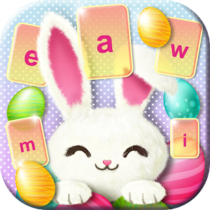 Cute Easter Bunny Keyboard
