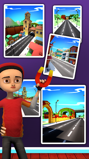 Big City Runner 3D For PC