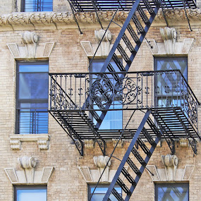 The Stylish Building by Joatan Berbel - Buildings & Architecture Architectural Detail ( stairs, colorful, stylish, architectural detail, artistic objects, street photography )