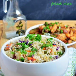 Restaurant Style Vegetable Fried Rice