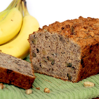 Comforting Banana Bread (Vegan, Whole Wheat, Refined Sugar-free, Low Fat)