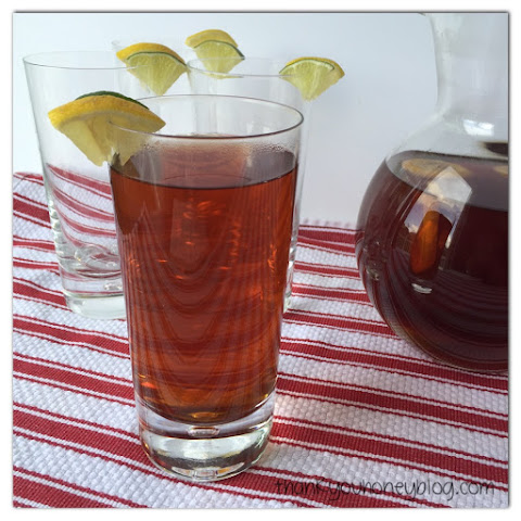 Citrus Infused Ice Tea