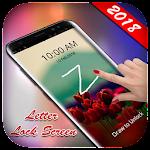 Letter Lock Screen 2018 - Gesture Lock Screen 2018 Icon