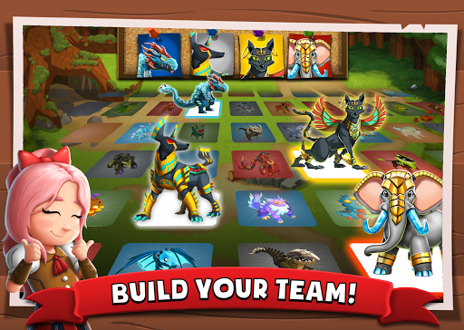 Battle Camp - Monster Catching screenshot 3
