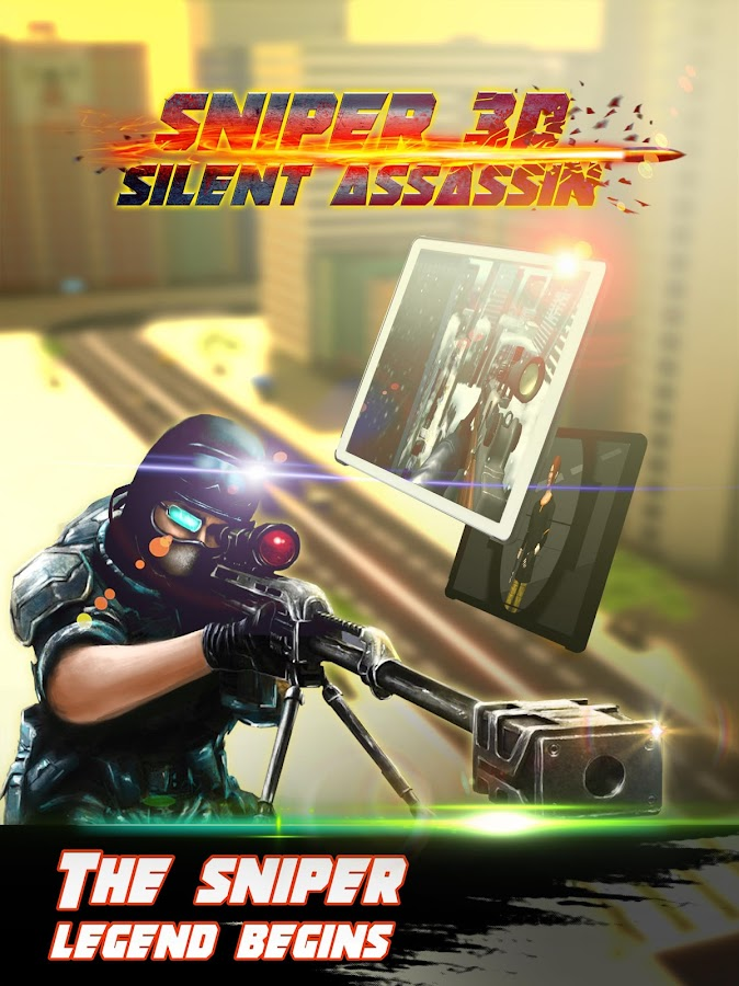 Sniper 3D Silent Assassin Fury Screenshot 5