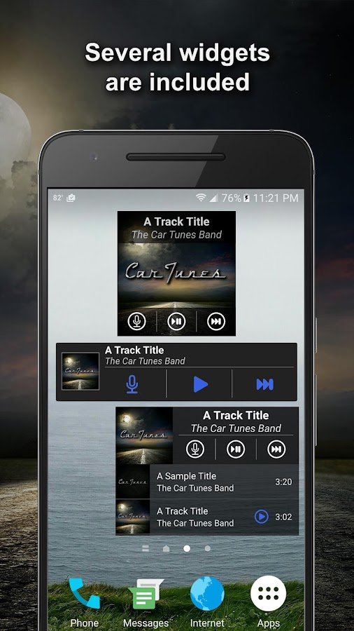 Car Tunes Music Player Pro Screenshot 3