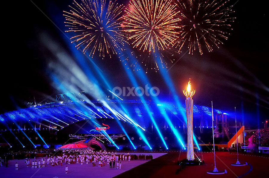 26th ASEAN Games Opening Ceremony, Palembang - ID by EG Giwangkara S . - News & Events World Events