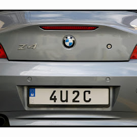4 U 2 C by Francis Xavier Camilleri - Transportation Automobiles ( car, personalized, reflection, number plate, bmw )