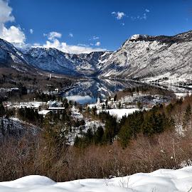 Pogled na jezero by Bojan Kolman - Landscapes Mountains & Hills (  )