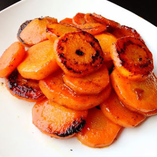 Paleo Orange and Ginger Glazed Carrots