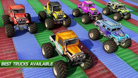 Monster Truck Stunt Impossible Tracks android spiele download