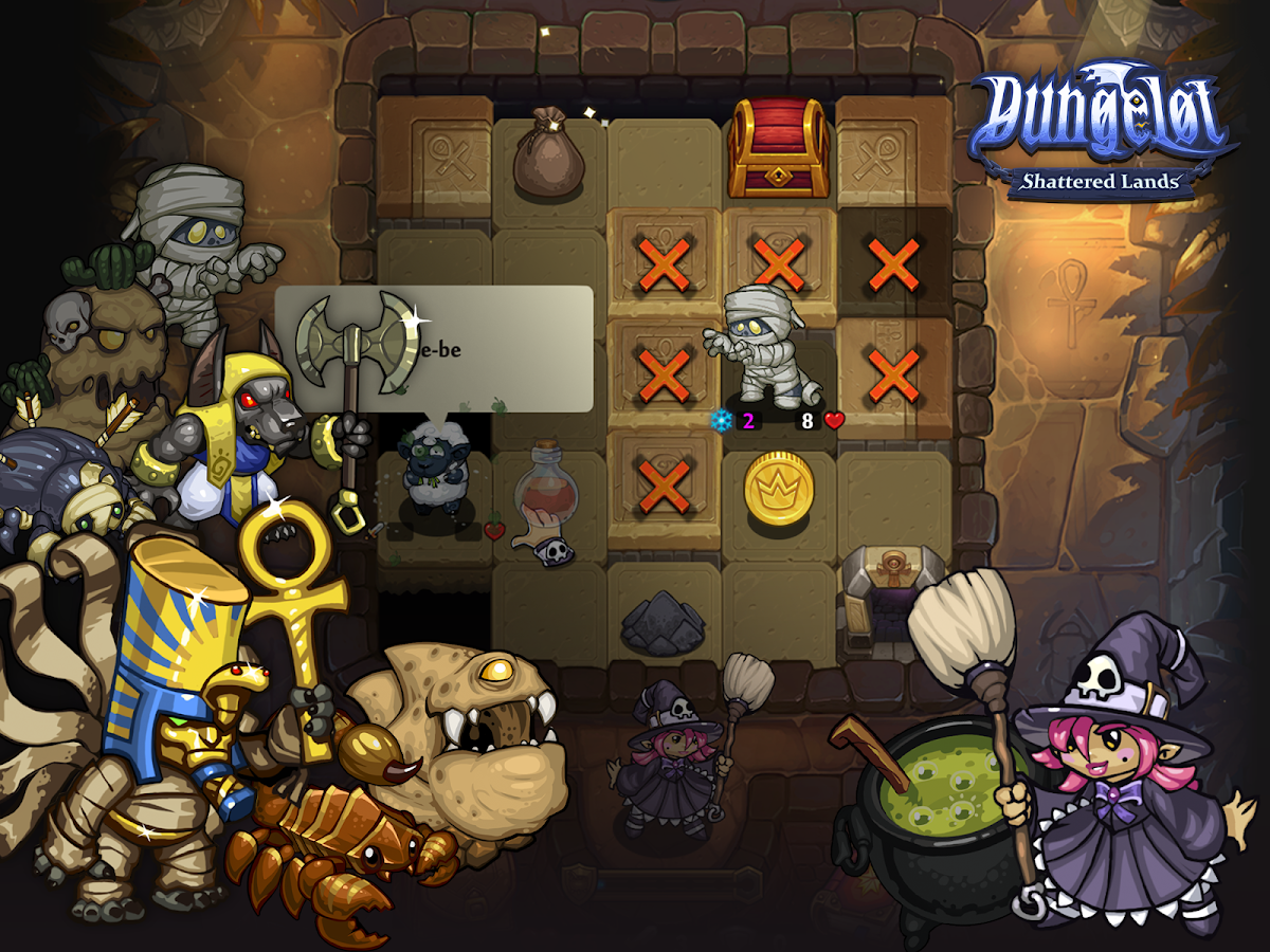 Dungelot Shattered Lands Screenshot 11