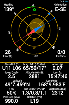 GPS Status & Toolbox APK screenshot thumbnail 10