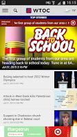 Screenshot of WTOC 11 News