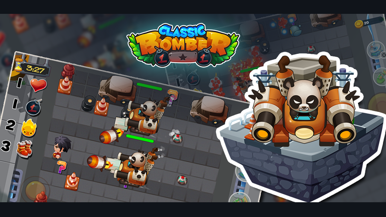 Bomber Heroes - Bomba game Screenshot 5