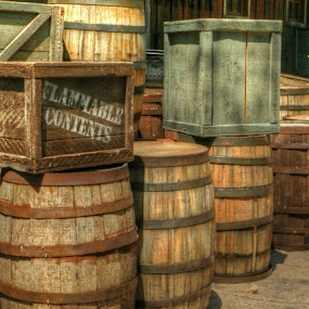 Barrels by Briana Jones - Artistic Objects Other Objects