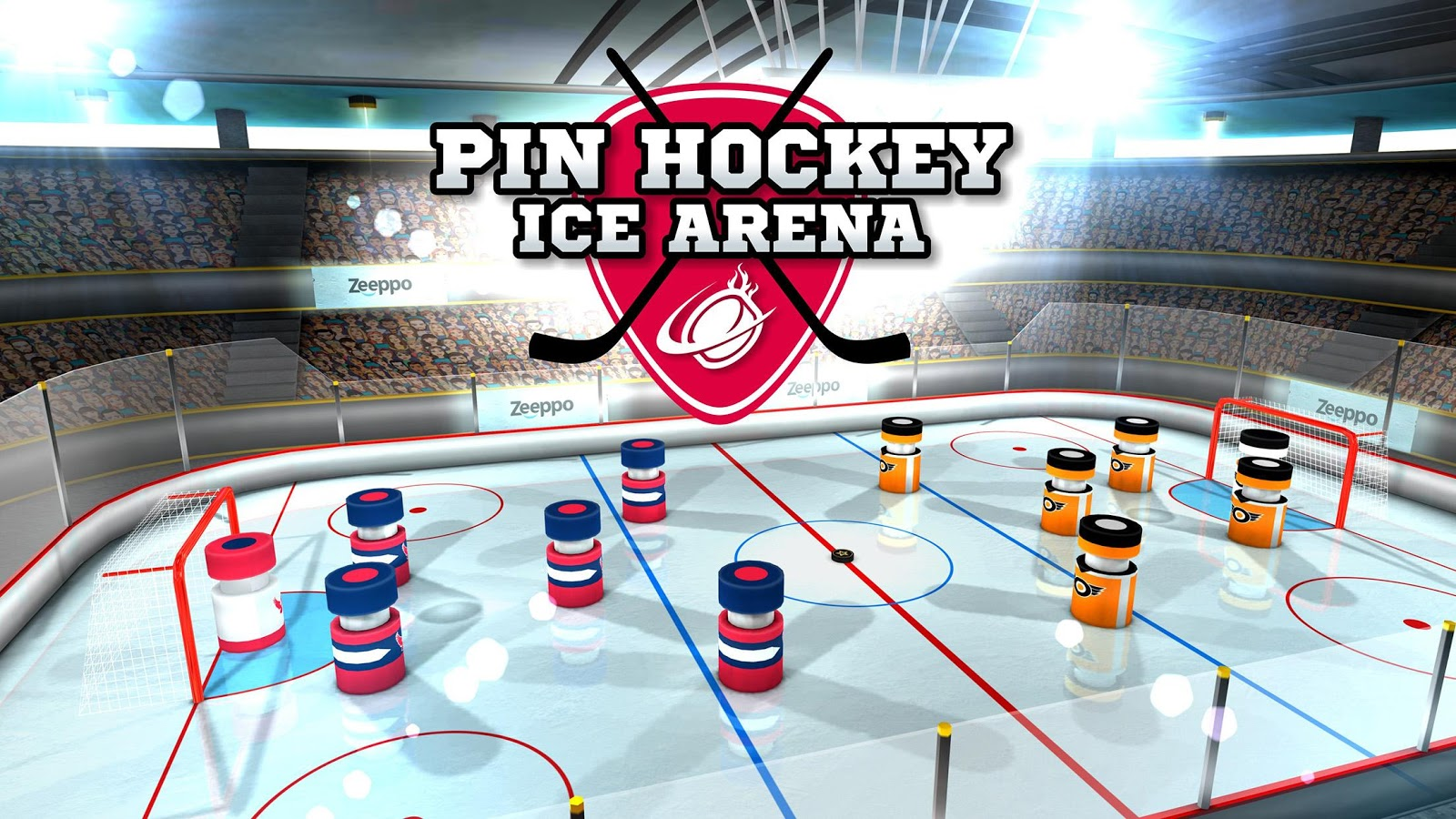 Pin Hockey - Ice Arena Screenshot 4