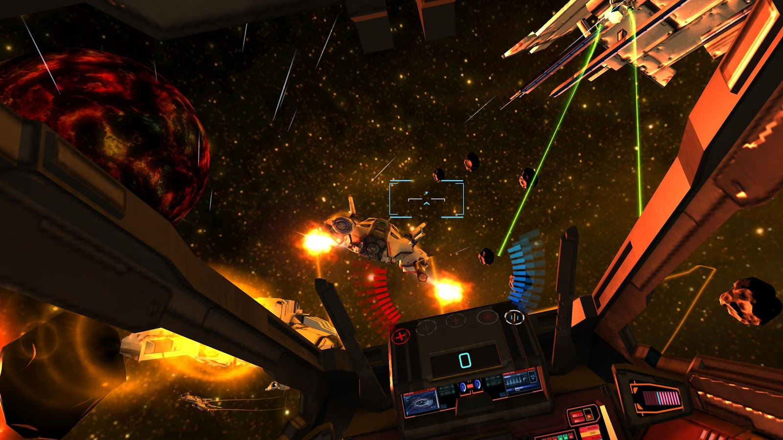 Minos Starfighter VR Screenshot 1