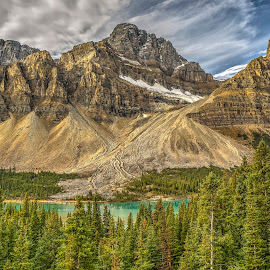 Banff National Park by Corey Yeatman - Landscapes Mountains & Hills ( mountians, canada, alberta, hdr, banff,  )