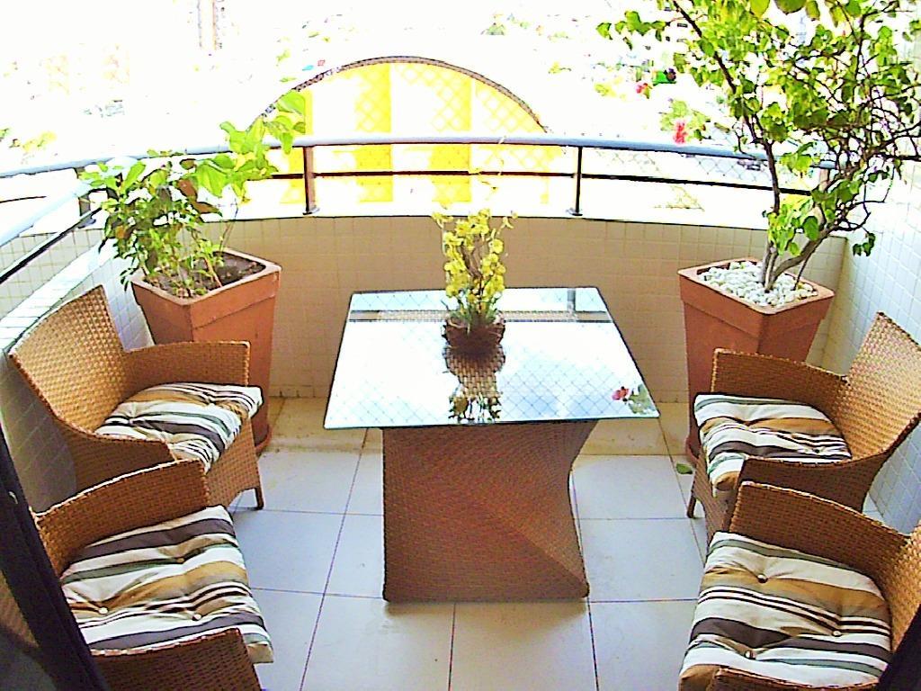 Apartamento com 4 dormitórios à venda, 162 m² por R$ 690.000 - Manaíra - João Pessoa/PB