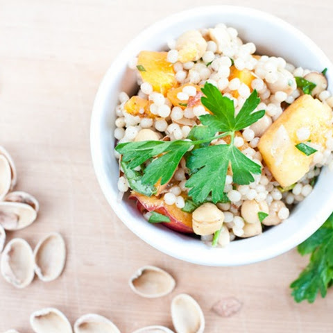 Peach, Apricot and Pistachio Couscous