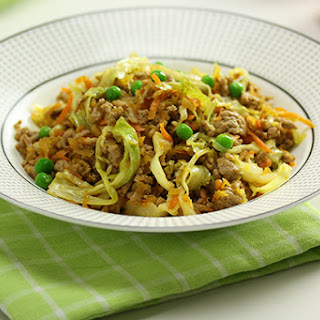 Pork & Cabbage Stir Fry