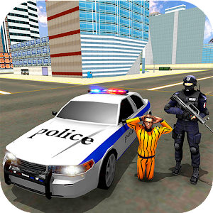 US City Police Car Prisoners Transport For PC / Windows 7/8/10 / Mac – Free Download