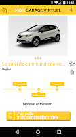 Screenshot of MyRenault