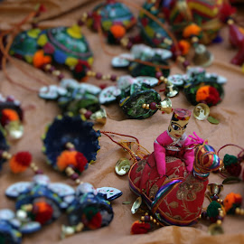 Puppets by Sunil Abraham - Artistic Objects Toys ( bangalore, red, still life, street, puppet )