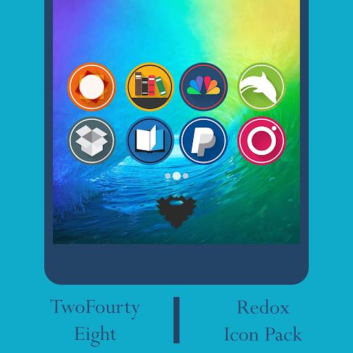 Redox - Icon Pack screenshot 2